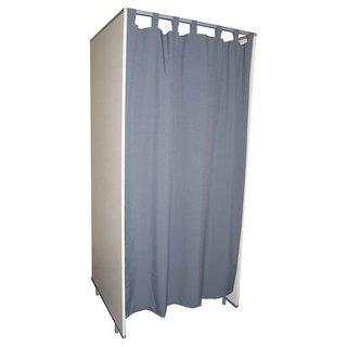 Vorhang Fur Umkleidekabinen Grau
